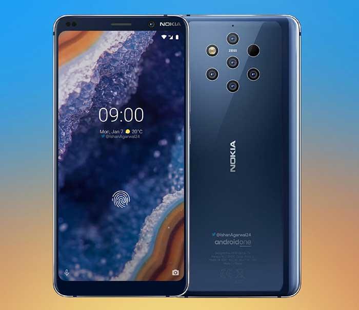 MWC 2019 - معرفی Nokia 9 PureView اولین پنج دوربینه جهان