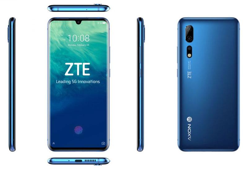 MWC 2019 - معرفی ZTE Axon 10 Pro 5G و Blade V10