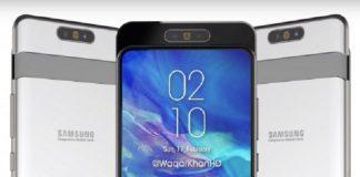 2 روز تا معرفی Galaxy A80 با دوربین سهگانه چرخان