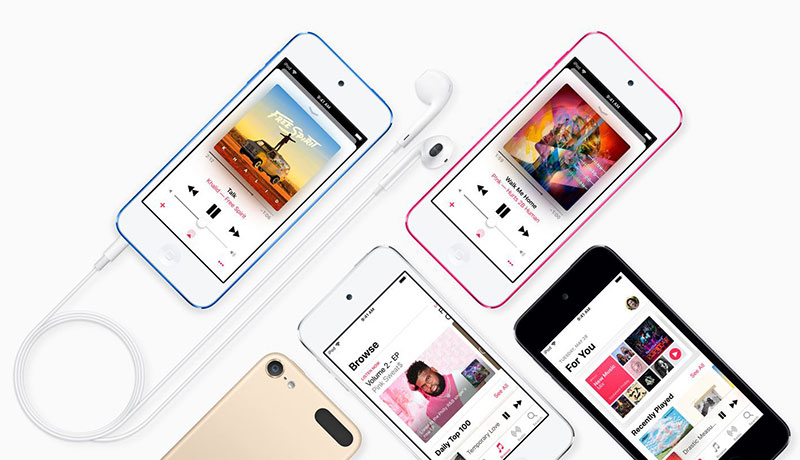 معرفی iPod Touch جدید - پردازنده آیفون 7، حافظه 256GB و تمام!