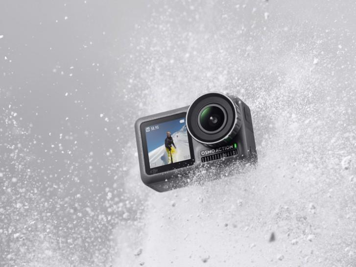 DJI Osmo Action آمد دوربین ورزشی 4K با دو صفحهنمایش