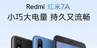 Redmi 7A با اسنپدراگون 439 و باتری 4000mAh
