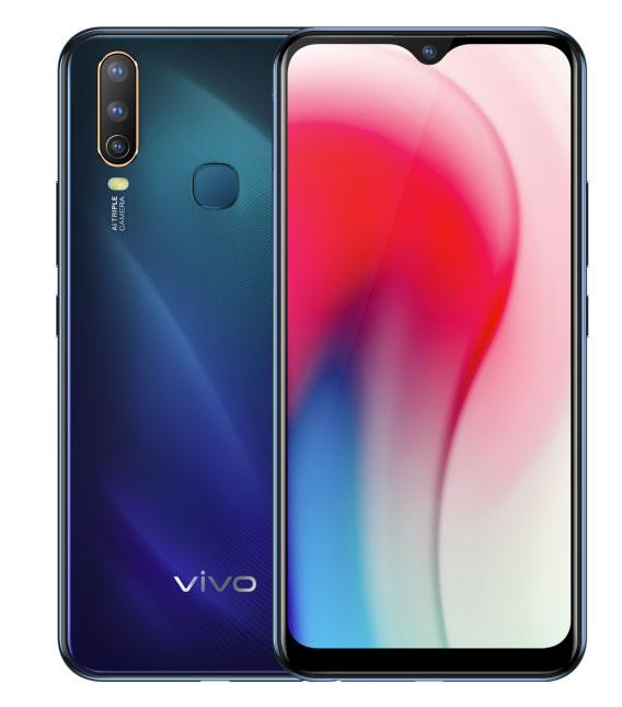 Vivo Y3 با صفحهنمایش 6.39 اینچ و دوربینهای سهگانه