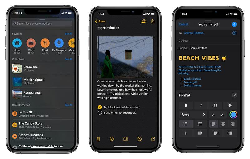 معرفی iOS 13 با دارک مد و بالاترین میزان امنیت تا به امروز