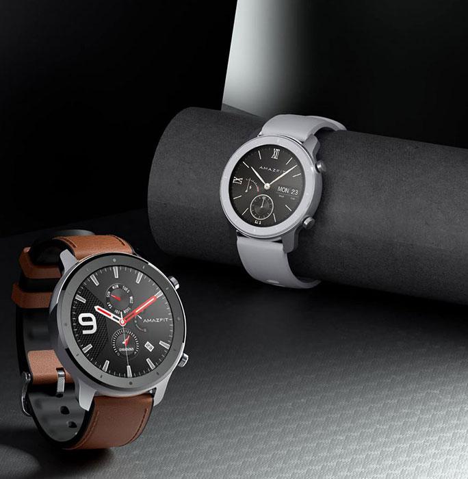 Amazfit GTR ساعت هوشمندی با 24 روز دوام باتری
