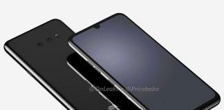 لو رفتن طراحی LG G8X ThinQ با ناچ کوچکتر و دو دوربین
