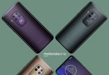 Motorola One Zoom در سه رنگ با 5X زوم ترکیبی