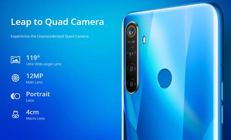 Realme 5 و Realme 5 Pro با چهار دوربین آمدند