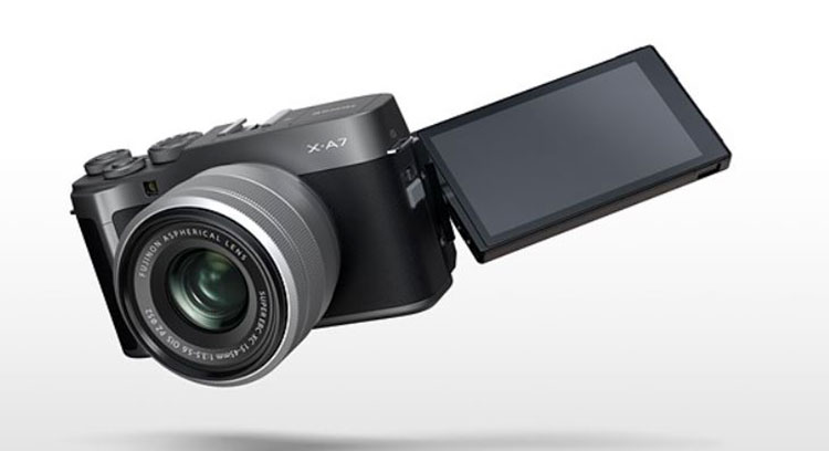 فوجی X-A7 بدون آینه رده پایین 700 دلاری برای آماتورها