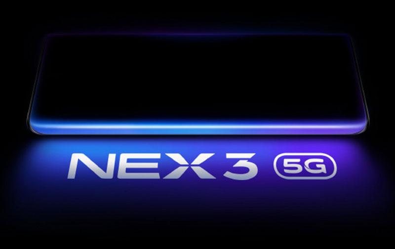 Vivo NEX 3 5G با صفحهنمایش آبشاری و دوربین 64 مگاپیکسلی