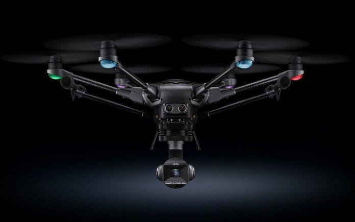 Typhoon H3 یک Drone حرفهای قدرتگرفته از لایکا
