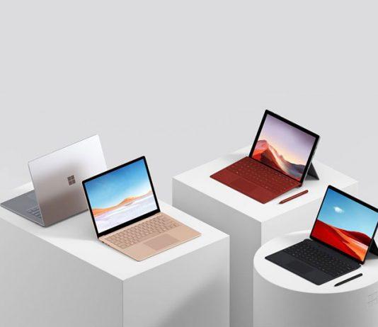 مایکروسافت معرفی کرد: Surface Pro 7، سرفیس لپتاپ 3 و سرفیس Pro X