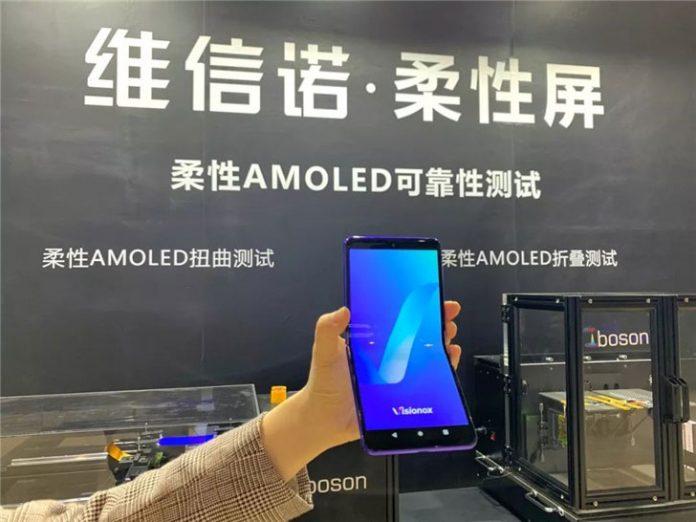 Visionox و نمایش ایده گوشی تاشوی جدید و OLED رولی