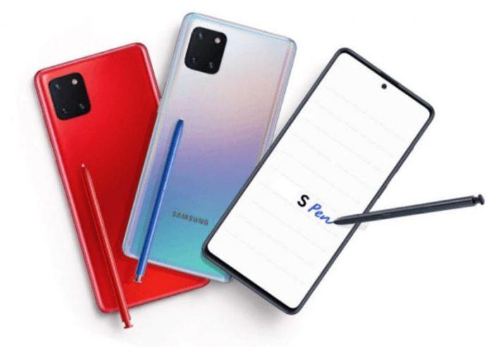 مشخصات Galaxy Note10 Lite به طور کامل افشا شد