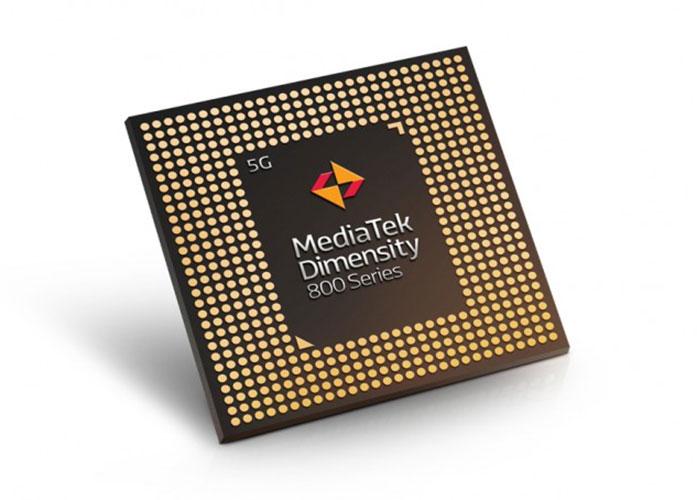 مدیاتک Dimensity 800 پروسسور 5G رقیب Snapdragon 765G