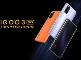 iQOO 3 اسمارتفون گیمینگ با SD865 و شارژر 55 واتی