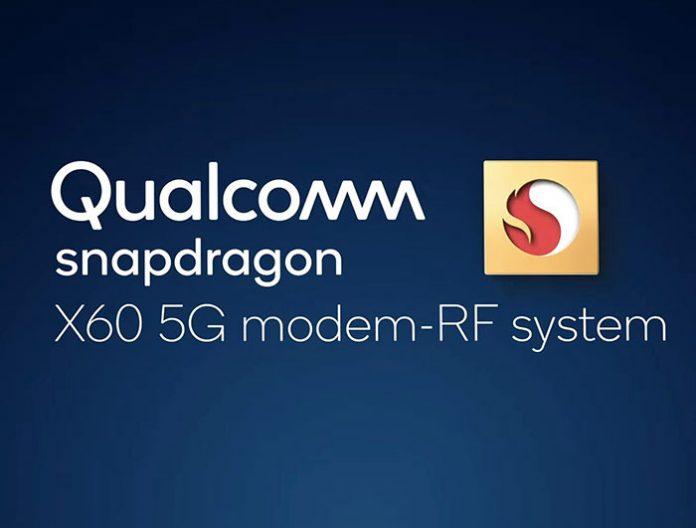 Snapdragon X60 مودم 5 نانومتری 5G با سرعت دانلود 7.5Gbps