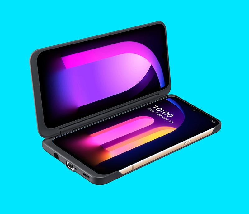 LG V60 ThinQ 5G با Snapdragon 865 و دوربین 64MP