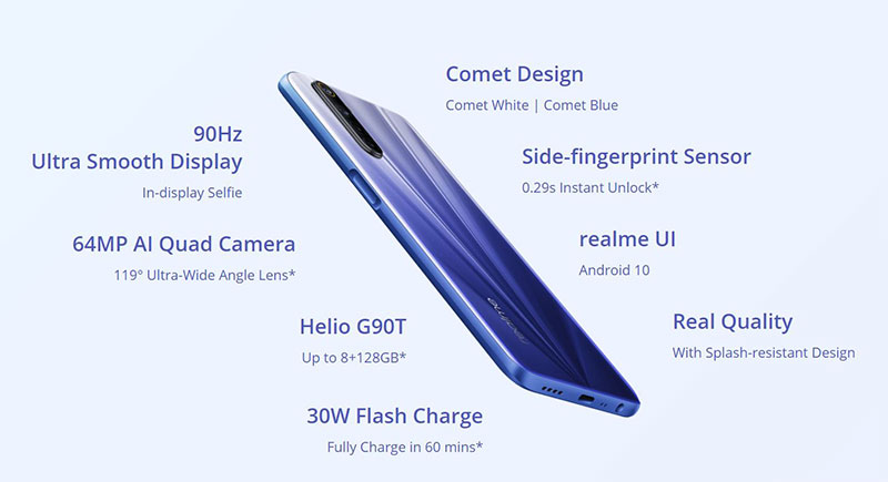 Realme 6 و 6 پرو، با دوربین 64MP و صفحهنمایشهای 90 هرتزی