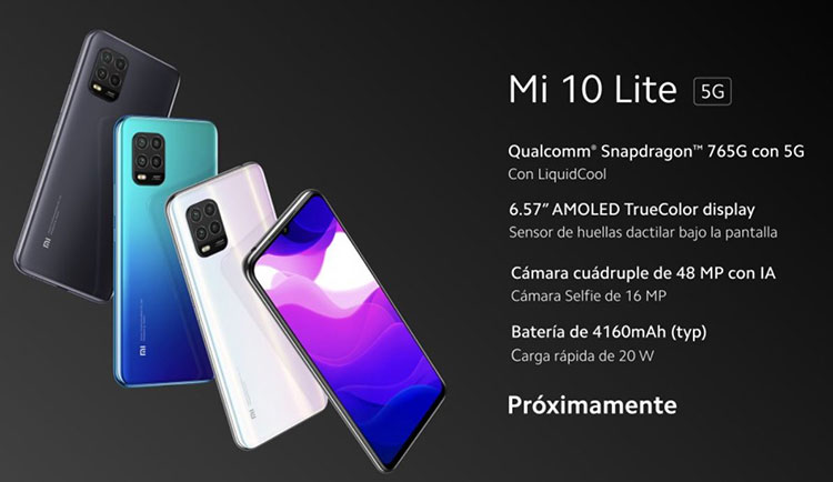Mi 10 Lite 5G ارزانقیمتترین گوشی 5G بازار