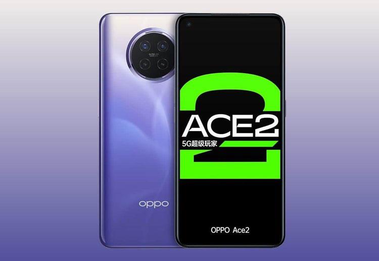 Oppo Ace 2 پرچمدار 5G با شارژ بیسیم 40 واتی