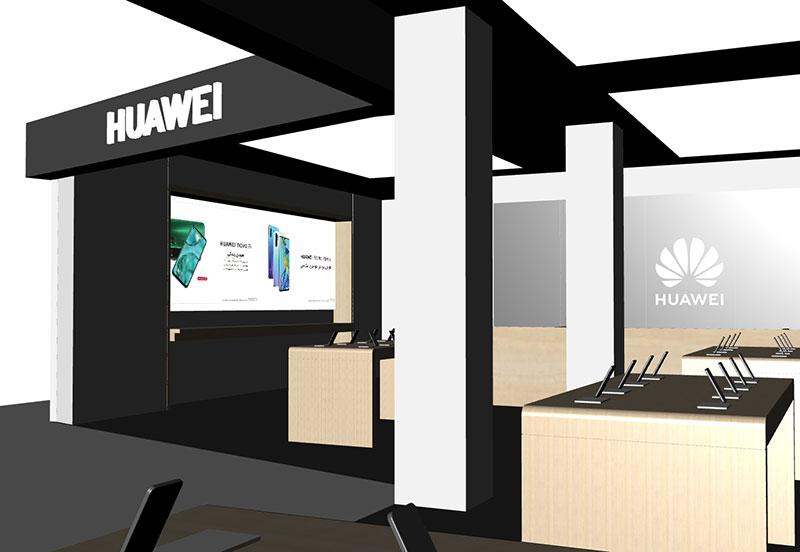 افتتاح برندشاپ هواوی در چارسو و بازار موبایل ایران 2