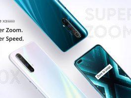 Realme X3 SuperZoom با 5 برابر زوم پریکسوپی و +SD855!