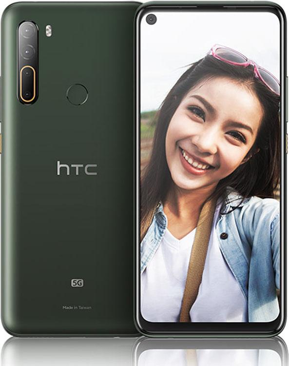 HTC U20 5G کلکسیونی از 7 اتفاق تازه: از دوربینهای چهارگانه تا 5G