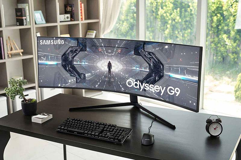 رونمایی سامسونگ از خمیدهترین مانیتور گیمینگ جهان: Odyssey G9