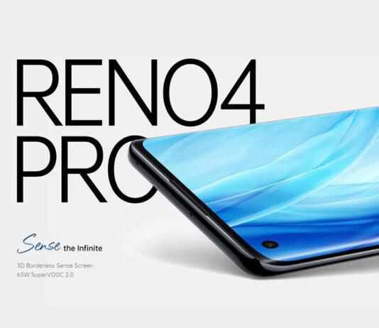 Oppo Reno 4 Pro با پردازنده SD720G و صفحهنمایش 6.5 اینچی
