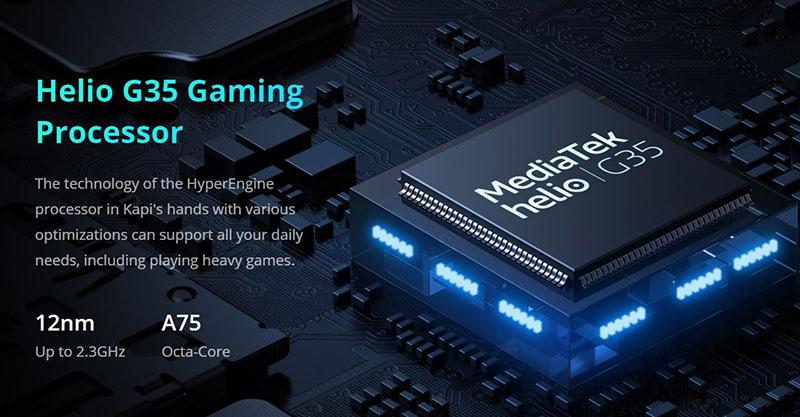 معرفی Realme C15 با باتری 6,000 و پردازنده Helio G35