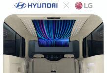 کابین IONIQ حاصل همکاری LG و HYUNDAI برای خودروهای برقی