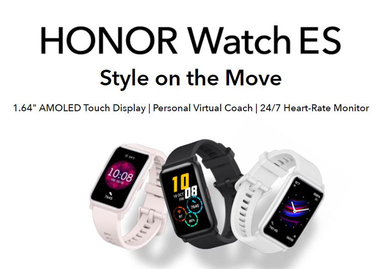 معرفی اسمارتواچهای جدید Honor GS Pro و Honor ES