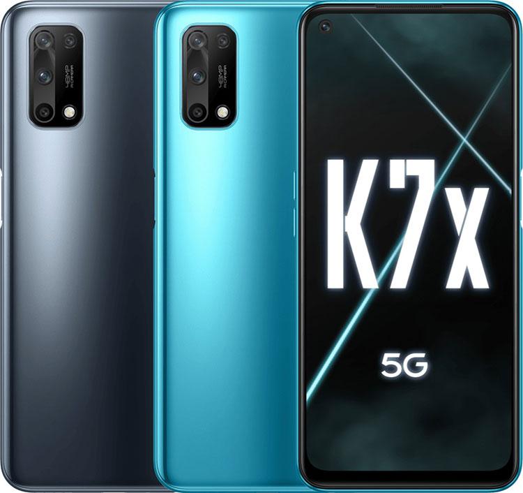 Oppo K7x میانرده 5G با Dimensity 720 و صفحهنمایش 90 هرتزی