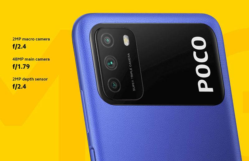 Poco M3 با باتری 6 هزار و دوربین 48MP فقط 129 دلار!