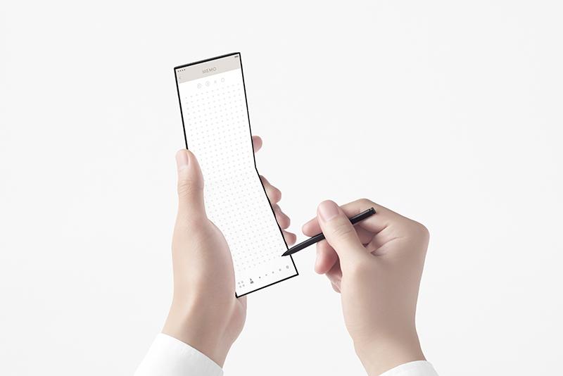 گوشی تاشوی Oppo کانسپتی برای آینده