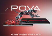 Tecno Pova اسمارتفونی ارزانقیمت با Helio G80 و باتری 6,000mAh