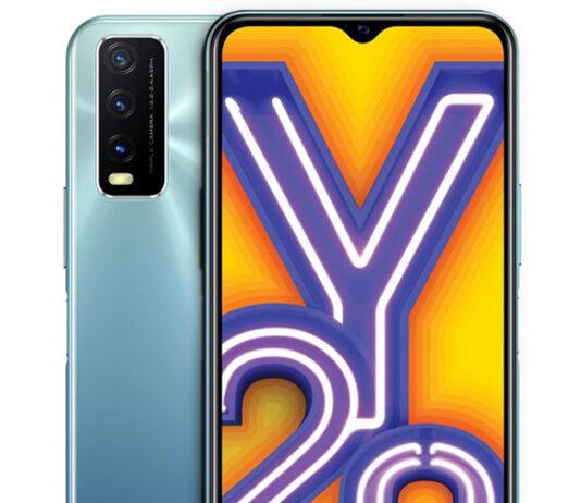 معرفی vivo Y20G با Helio G80 و باتری 5,000mAh