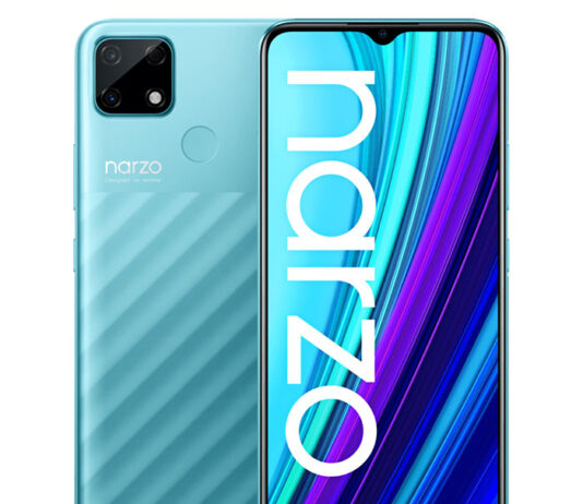 معرفی narzo 30A با باتری 6,000mAh تنها 125 دلار!