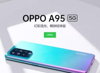 Oppo A95 5G میانرده 300 دلاری با صفحهنمایش 6.43 اینچی AMOLED