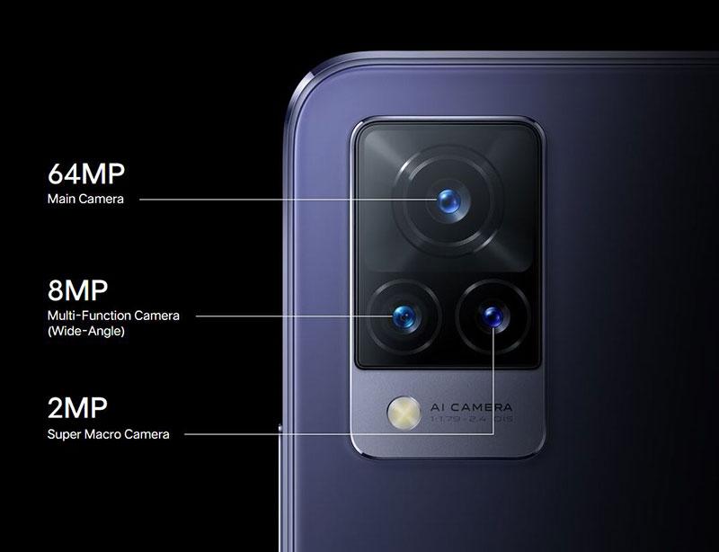معرفی سری Vivo V21 پادشاهان سلفی با فوکوس خودکار و دو فلش!