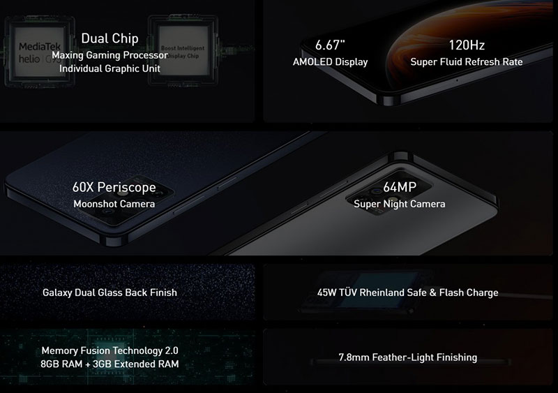 معرفی Infinix Zero X همراه با Zero X Pro و X Neo ارزانقیمتهای پریکسوپی