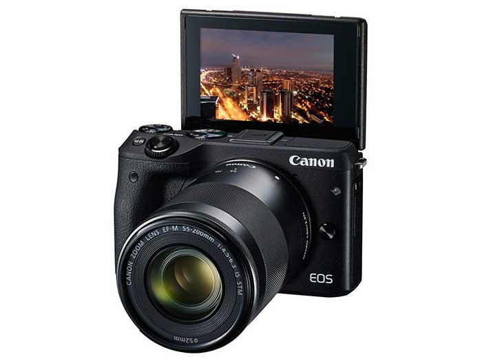 معرفی دوربین بدون آینه پیشرفته کانن EOS M3