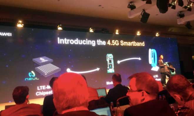 هواوی و اسمارتبند 4.5G