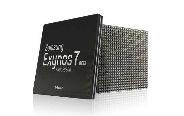 رونمایی از پروسسور 14 نانومتری Samsung Exynos 7