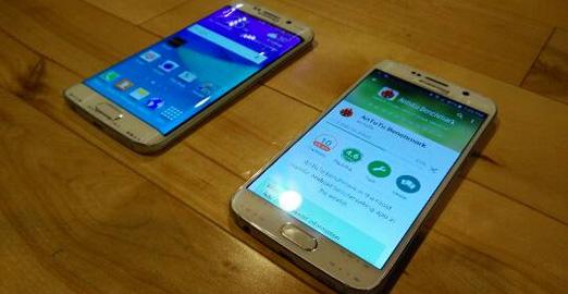 تصاویر واقعی خانواده Galaxy S6 و هدست آن را ببینید