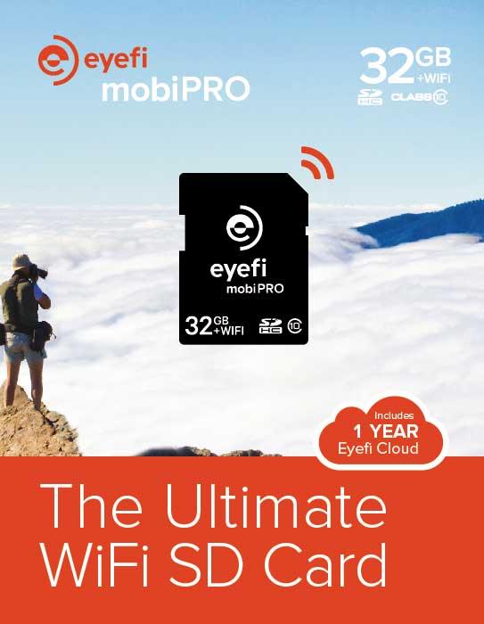 کارت اس دی - mobiPRO کارت SD با امکان انتقال بی سیم RAW