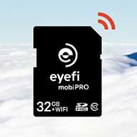 mobiPRO کارت SD با امکان انتقال بی سیم RAW