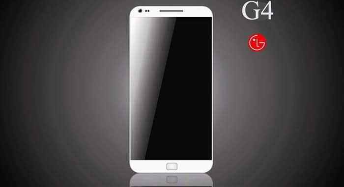 ال جی جی 4 (LG G4) با سنسور اثر انگشت