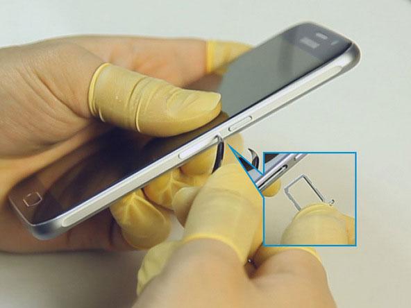 سامسونگ گلکسی اس 6 - چگونگی تعویض باتری در Samsung Galaxy S6